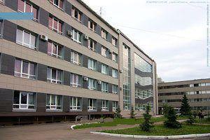 Kazan Devlet İnşaat Üniversitesi binası
