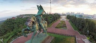 Ufa Şehri heykeli