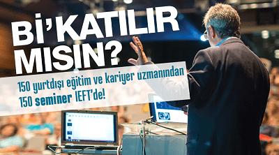 IEFT yurtdışı eğitim fuarı