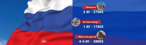 Rusçayı Rusya'da Öğren!